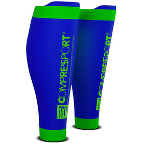 Compressport R2V2 Calf Sleeves Blue